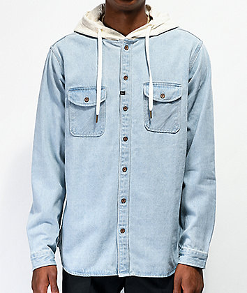 Imperial Motion Wallace Hooded Denim Jacket