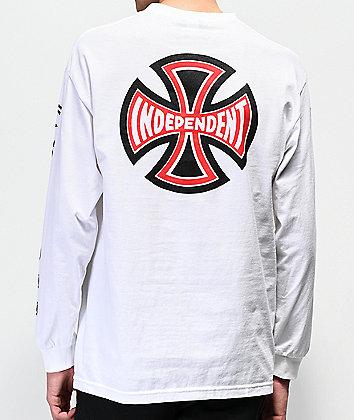Independent Ante camiseta de manga larga negra y blanca