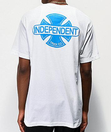 Independent Baseplate camiseta blanca