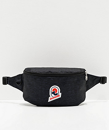 Invicta 25 Solid Black Fanny Pack