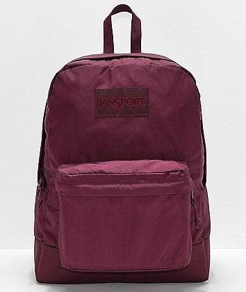 Jansport Superbreak Mono Dried Fig Backpack