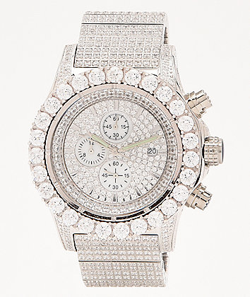 King Ice The Magistrate White Gold Analog Watch