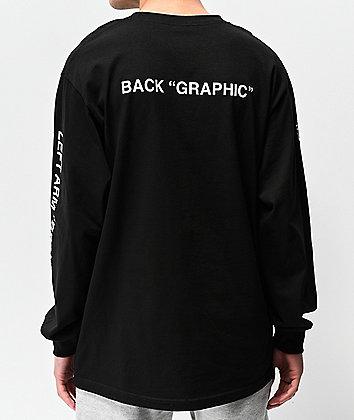 "Know Bad Days ""Logo"" Black Long Sleeve T-Shirt"