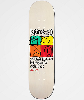 "Krooked Cromer KD-Ultra 8.25"" Skateboard Deck"