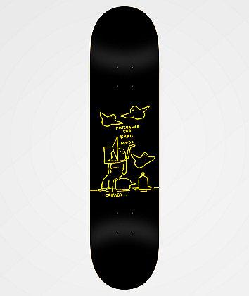 """Krooked Cromer Patchance 8.25"""" Skateboard Deck"""