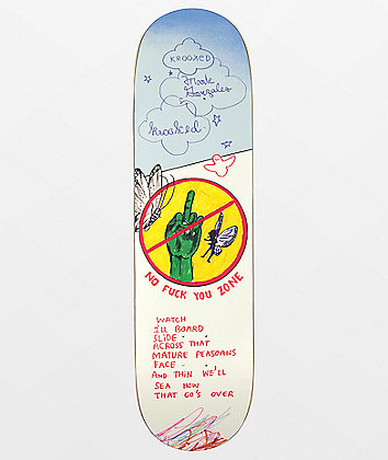 "Krooked Gonzales Nofu 8.62"" Skateboard Deck"