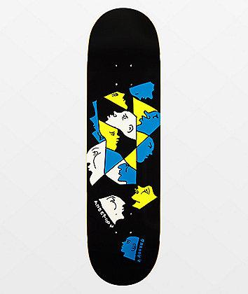 """Krooked Manderson Prism 8.38"""" Skateboard Deck"""