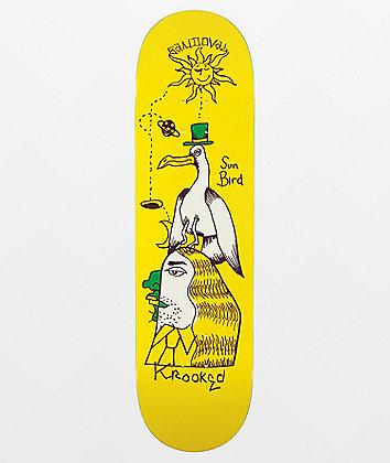 "Krooked Sandoval Sunbird 8.5"" Skateboard Deck"
