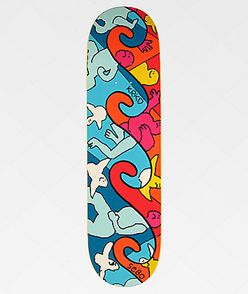 "Krooked Sebo Waved 8.25"" Skateboard Deck"