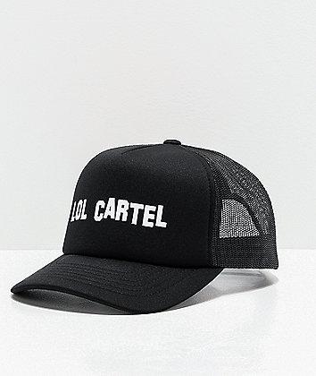 LOL Cartel Hollywood Black Trucker Hat