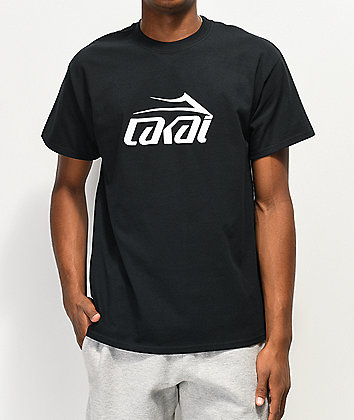 Lakai Basic Black T-Shirt