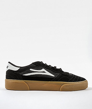 Lakai Cambridge Black & Gum Skate Shoes