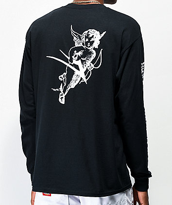 Lakai Cherub Black Long Sleeve T-Shirt
