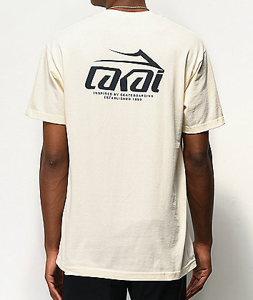 Lakai Inspired By Cream T-Shirt