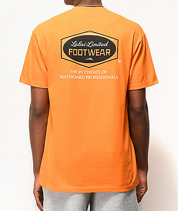 Lakai Paint Orange T-Shirt