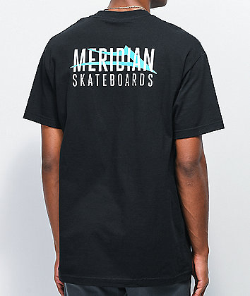 Lakai x Meridian City Black T-Shirt