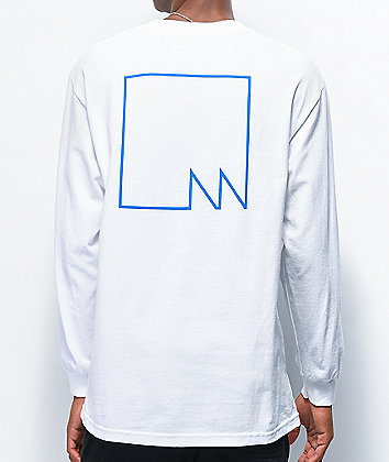 Lakai x Meridian White Long Sleeve T-Shirt