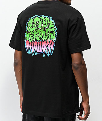 Lamebrain x Mishka Black T-Shirt