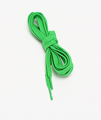 Liberated Laces Green Shoelaces