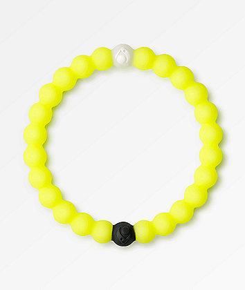 Lokai Dead Sea Neon Yellow Bracelet