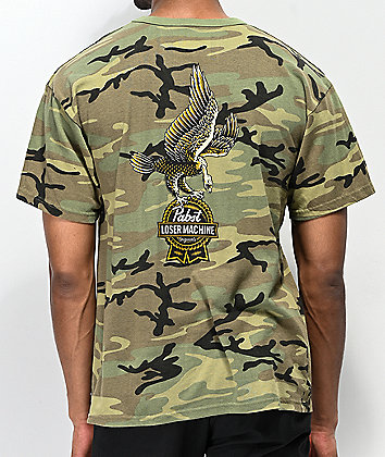 Loser Machine x PBR Guardian Camo T-Shirt