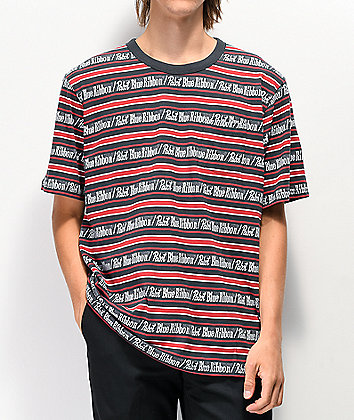 Loser Machine x PBR Navy Knit Pocket T-Shirt