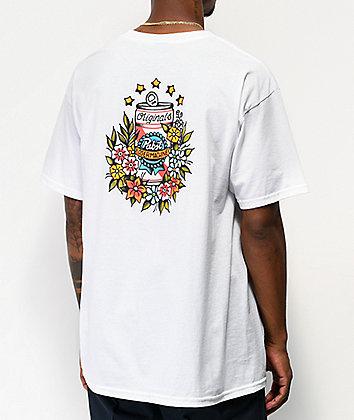Loser Machine x PBR Tropical White T-Shirt