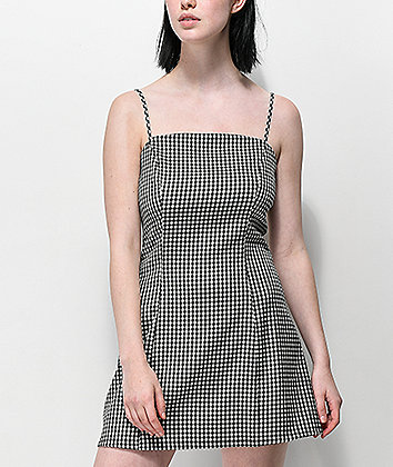 Lunachix Gingham Mini Dress