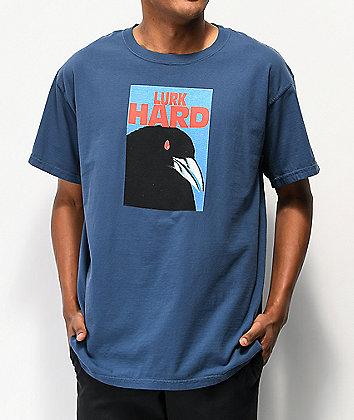 Lurk Hard Raven Blue T-Shirt