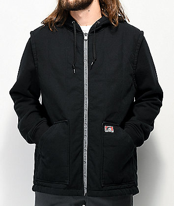 Lurking Class By Sketchy Tank 3M Black 2Fer Jacket