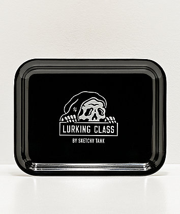 Lurking Class by Sketchy Tank Black Tray