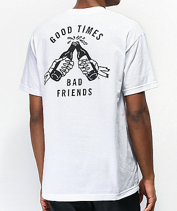 Lurking Class by Sketchy Tank Good Times White T-Shirt