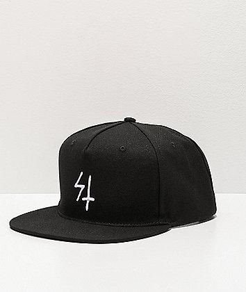 Lurking Class by Sketchy Tank Logo Black Snapback Hat