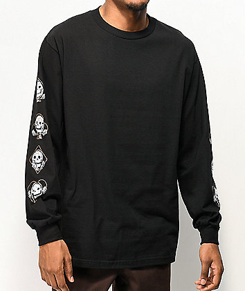 Lurking Class by Sketchy Tank Suits Black Long Sleeve T-Shirt