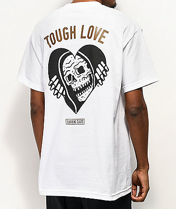 Lurking Class by Sketchy Tank Tough White T-Shirt