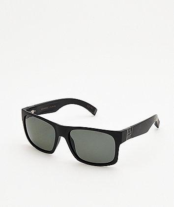 Madson Camino Matte Black & Grey Sunglasses