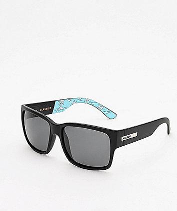 Madson x Chomp Classico Salty Black Polarized Sunglasses