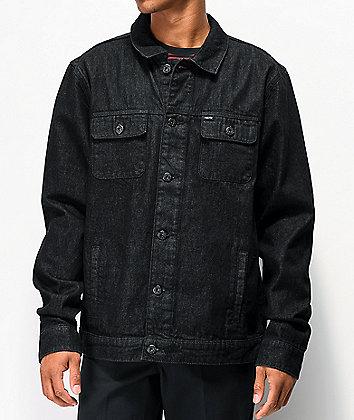 Matix Crew Trucker Black Denim Jacket