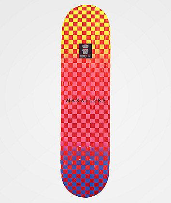 "Maxallure Lets Go Blue & Red 8.0"" Skateboard Deck"