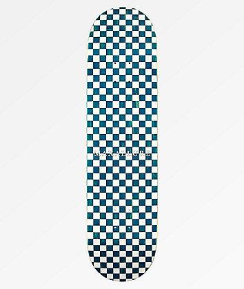 """Maxallure Lets Go Checkerboard White 8.0"""" Skateboard Deck"""