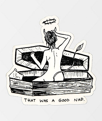 Melodie Nap Sticker