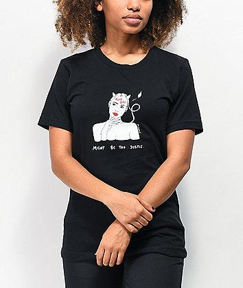 Melodie Too Subtle Black T-Shirt