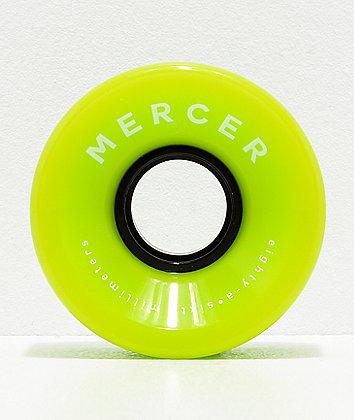 Mercer 60mm 80a ruedas de cruiser verdes