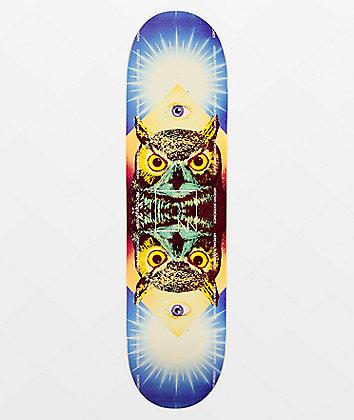 """Meridian Owl Eye 8.0"""" Skateboard Deck"""