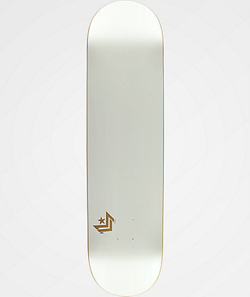 "Mini Logo Chevron White 8.5"" Skateboard Deck"
