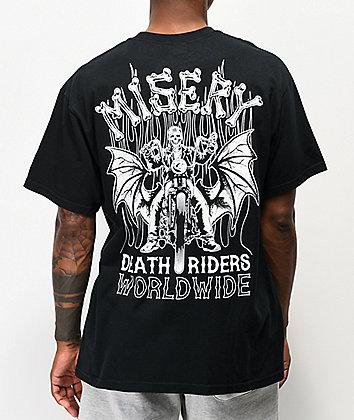 Misery Worldwide Death Riders Black T-Shirt