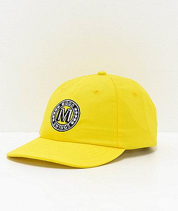 Moodswings Autobahn Yellow Strapback Hat