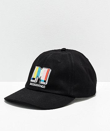 Moodswings Broadcast Black Strapback Hat