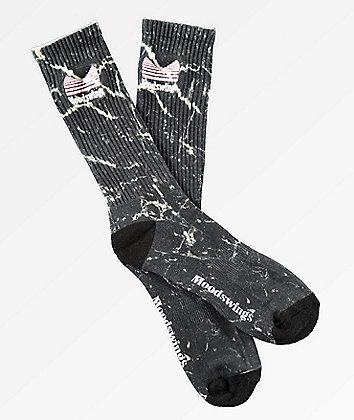 Moodswings Quantum Leap Black Crew Socks