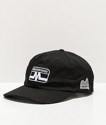 Moodswings Static Black Strapback Hat